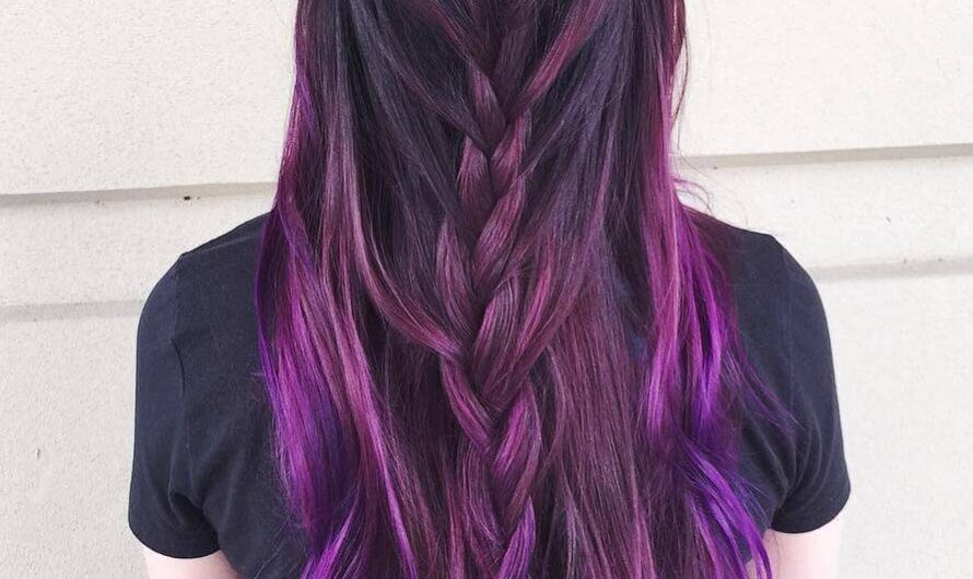 Purple Hair – See How Cool They Look With The Right Hairstyles