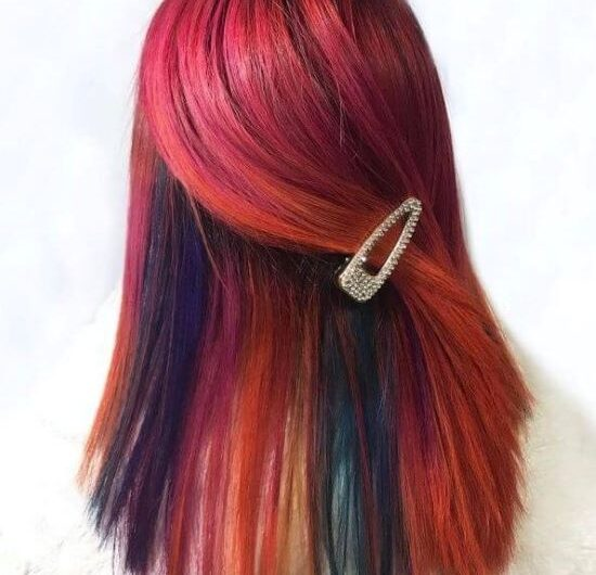 Strikingly Amazing Hairstyle Ideas For Red Ombre Hair