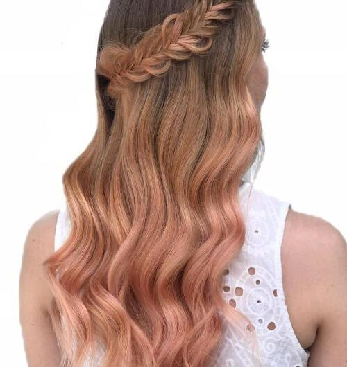 Rose Gold Hairstyles For Achieving A Stylish Look On Any Day