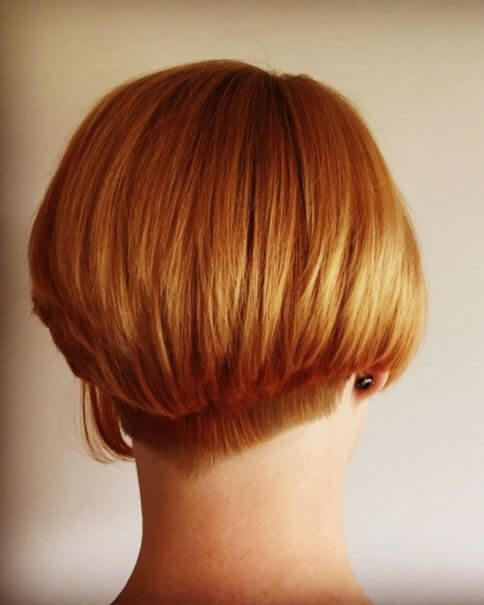 Short Bob With Low Undercut