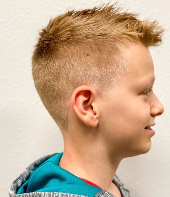 Trendy Fauxhawk Hairstyle Variations For Kids And Teens