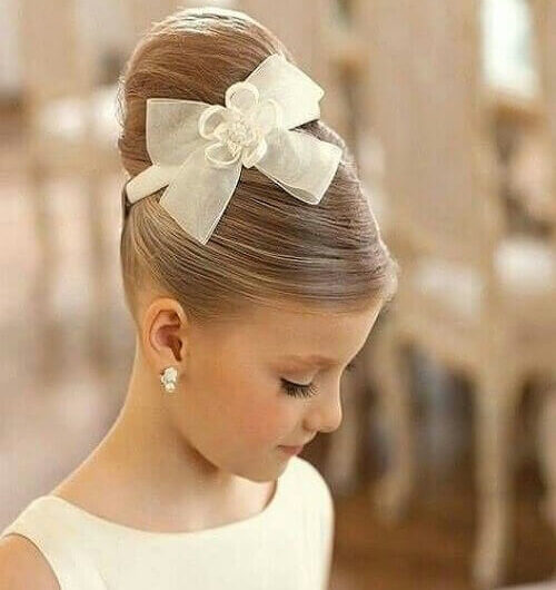 Top Trendy Quick And Easy Updos For Your Little Girl