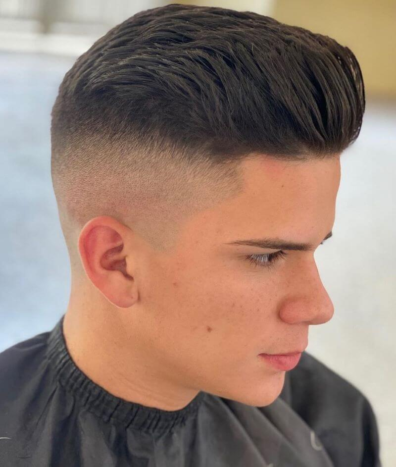 Combover With Fade
