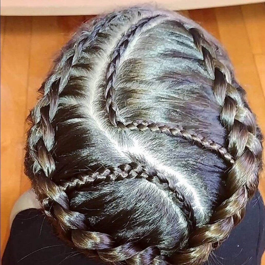 Curved Cornrows