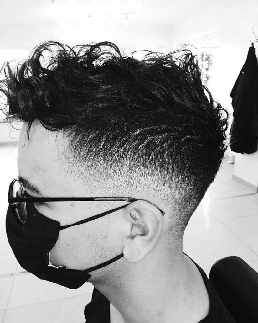 Spiky Curls With Undercut