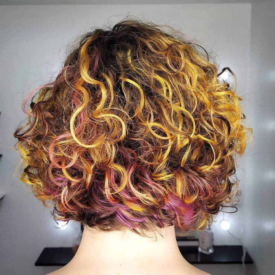 Wavy And Messy With Vibrant Colors