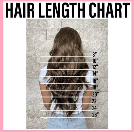 Hair Length Chart To Understand Your Hair Type And Length For Appropriate Style Selection