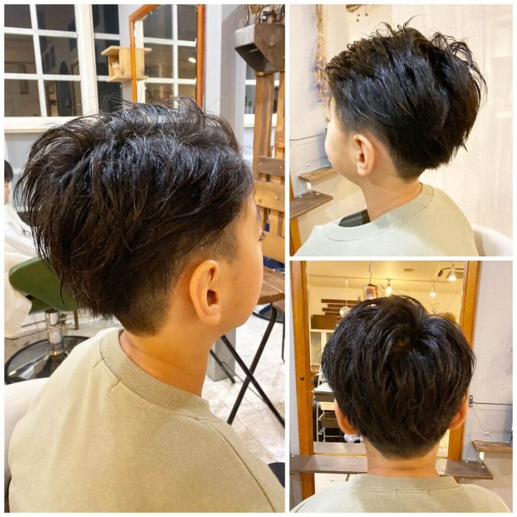Long Top With Short Sides