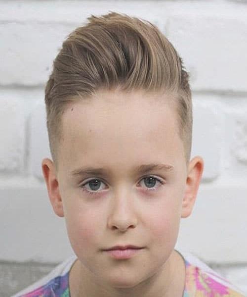 Boys Quiff Hairstyle