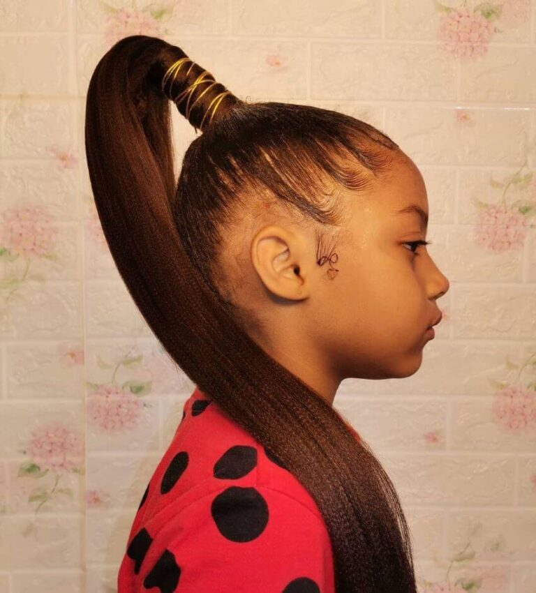 Braided Pigtails With Twisted Fringes
