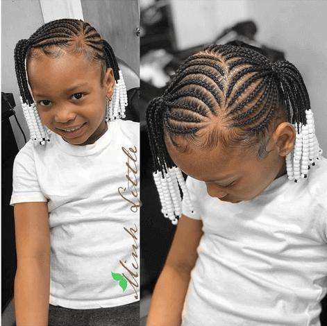 Cornrows With Beautiful Pony style
