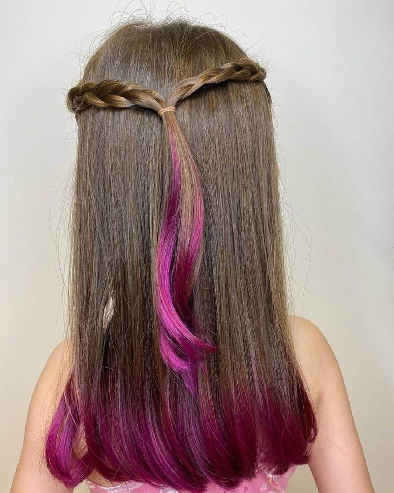 Halo Braided Tail With Highlights