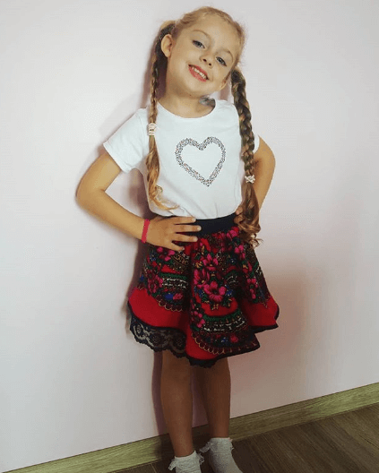 Long Pigtails With Center Parted Top
