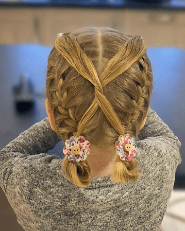 Cross Braided Pigtails