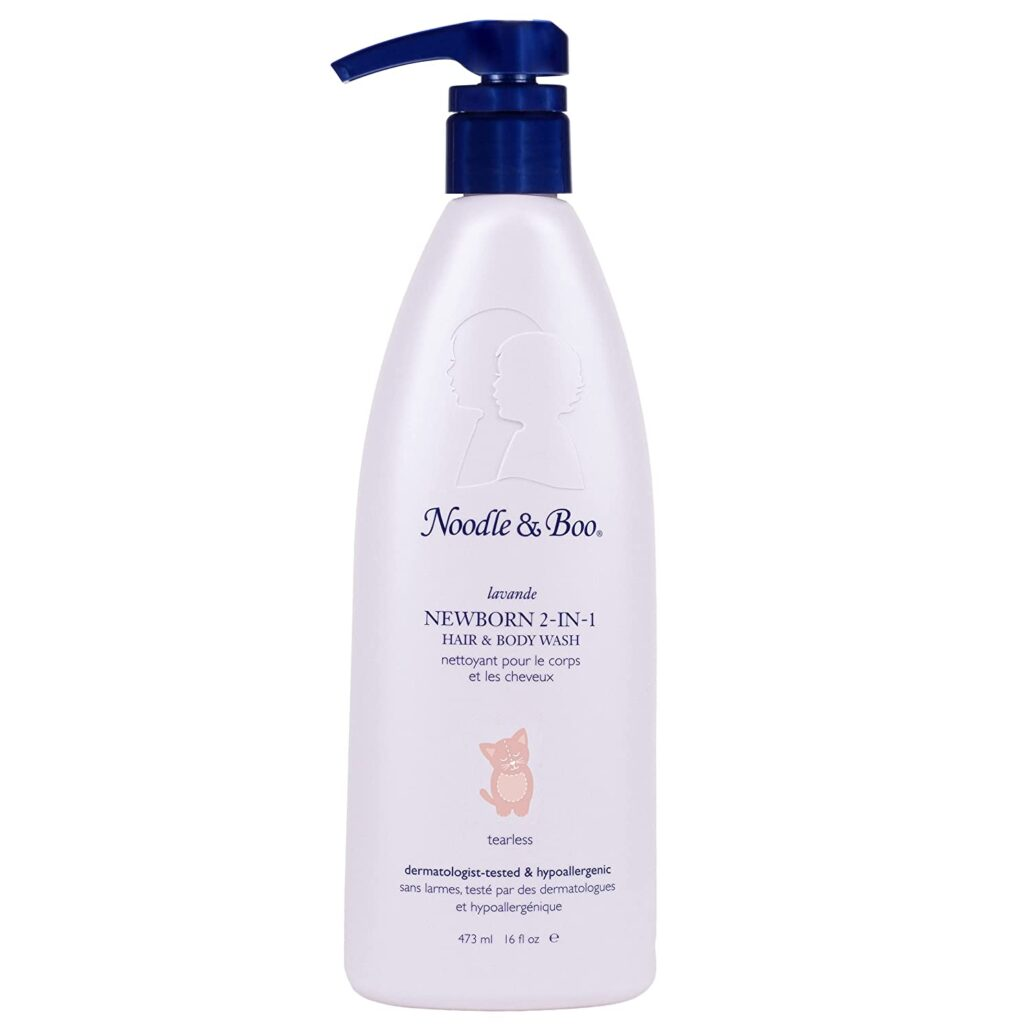 Noodle and Boo Lavender Newborn and Baby 2-in-1 Hair and Body Wash