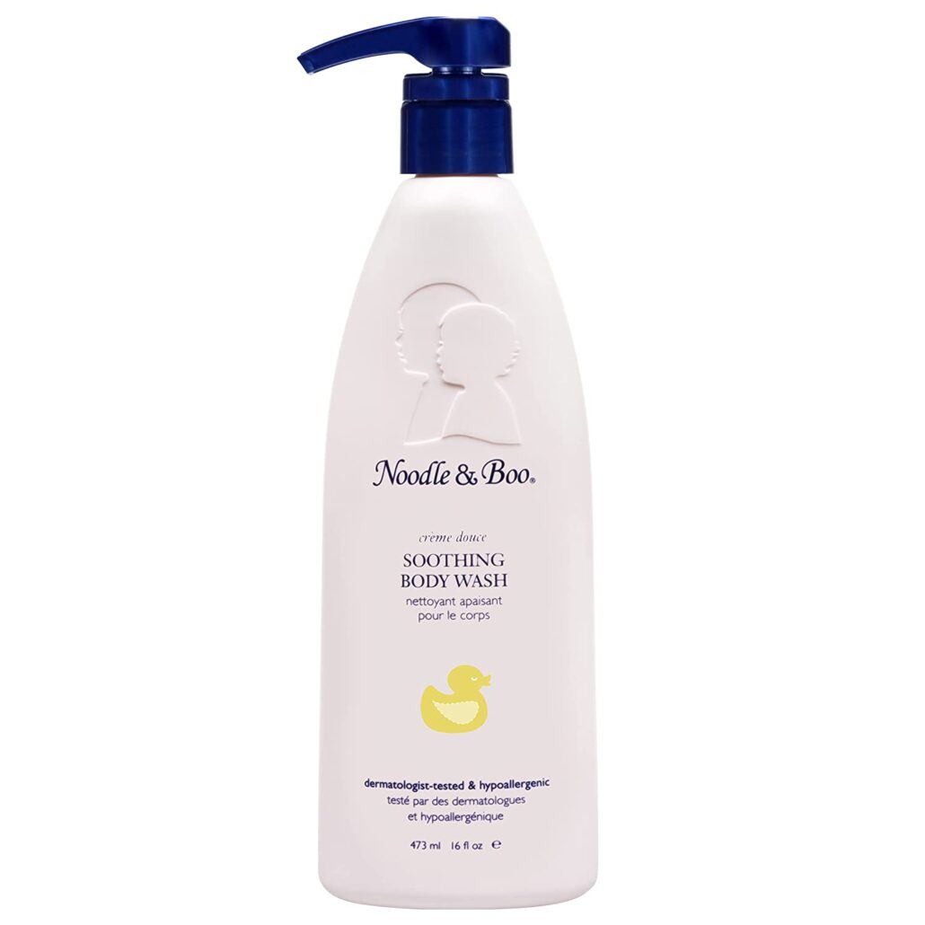 Noodle and Boo Soothing Baby Body Wash For Gentle Care