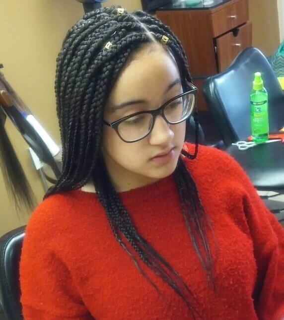 Box Braids For 8 Year Olds For An Energetic New Look