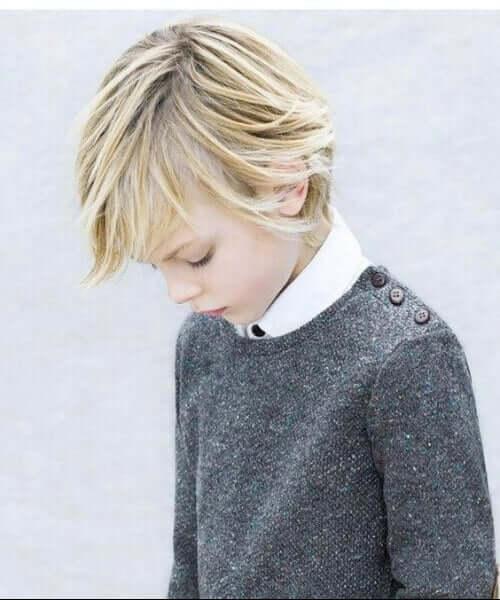 School Boy Skater Hair Cut