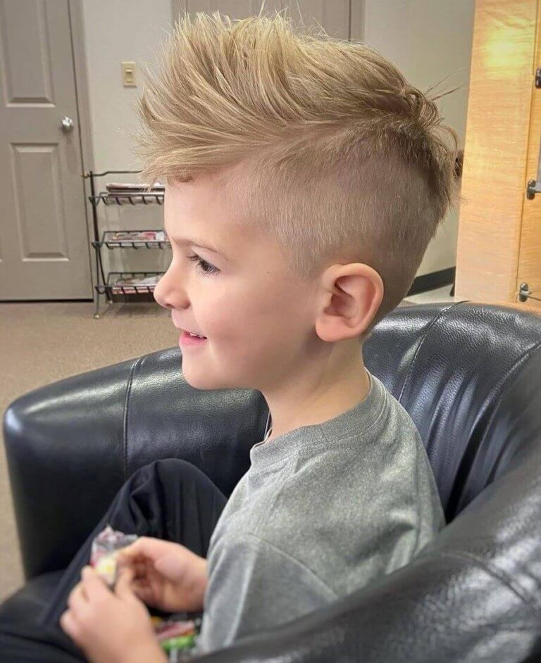 Half Mohawk With Disconnected Undercut