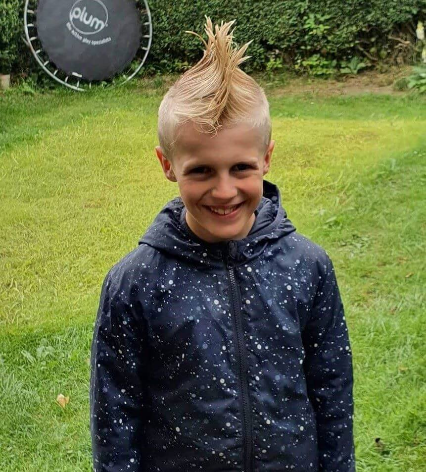 Spiky Mohawk With Long Hair